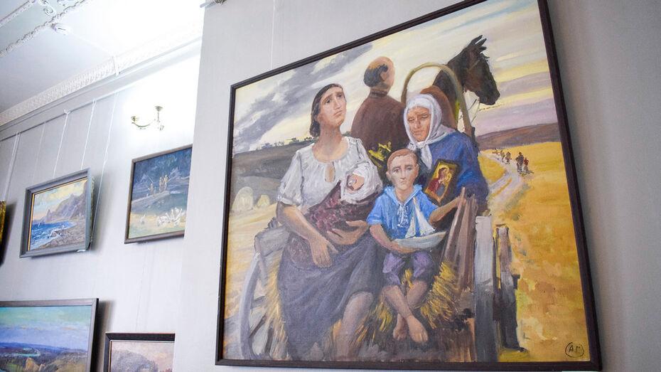 Лискинцев пригласили на выставки картин острогожского живописца Александра Горешнева