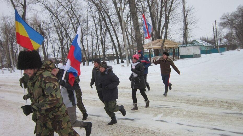 Семилукские казаки отметили Новый год без спиртного