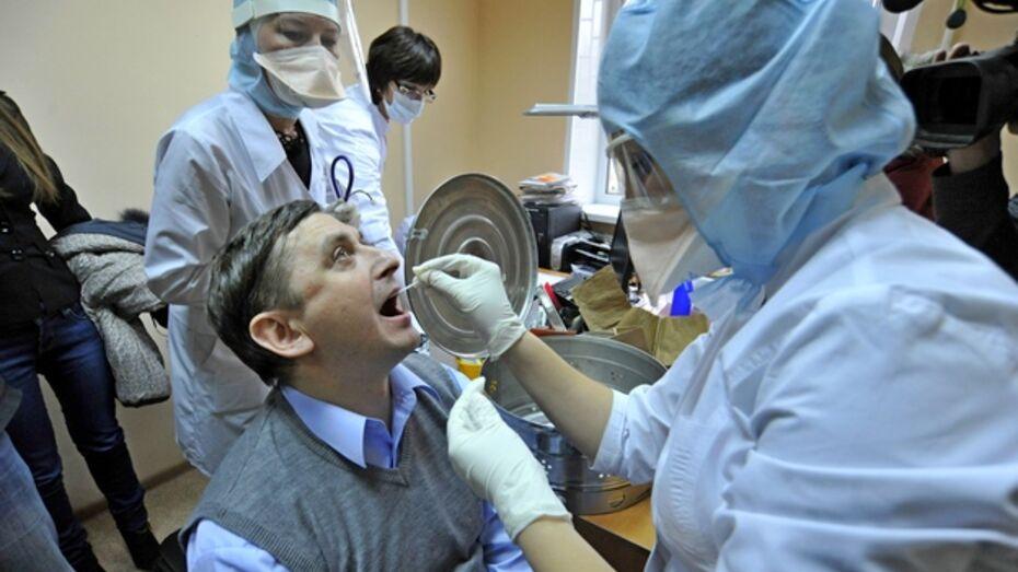 Количество заболевших гриппом в Воронеже и области растет