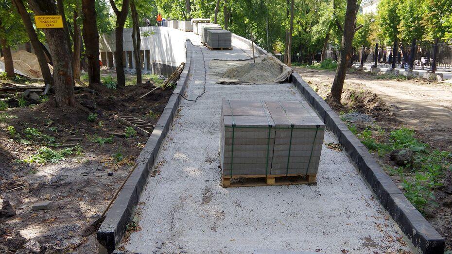 СМИ: затянувшаяся реконструкция парка «Орленок» в Воронеже привела к обыскам в мэрии