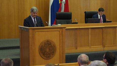 Впервые отчет губернатора Воронежской области покажут в прямом эфире в соцсетях