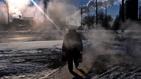 МЧС предупредило воронежцев об аномальных морозах