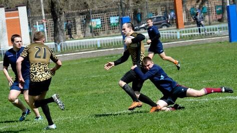 Регбисты «Скифов» проиграли сборной Липецкой области в Воронеже