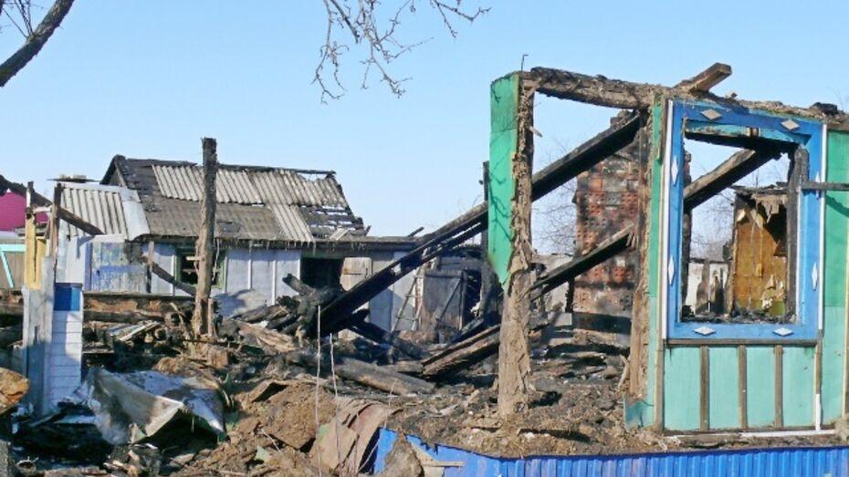 В Грибановском районе двое мужчин сгорели заживо
