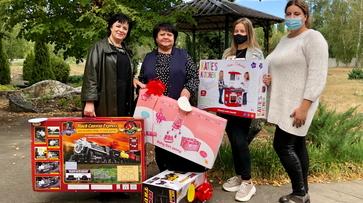 Детские учреждения Воронежской области получили гуманитарную помощь от столичного фонда