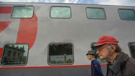 РЖД открыли продажу билетов на двухэтажный поезд «Москва-Воронеж»