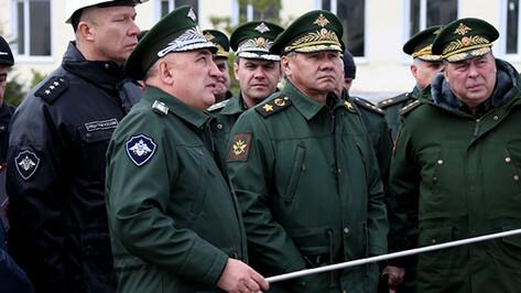 Сергей Шойгу в Воронежской области проверил строительство железной дороги в обход Украины