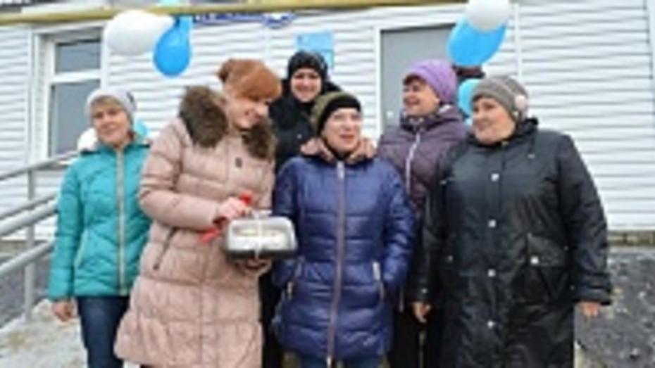 В семилукском селе открылось обновленное почтовое отделение
