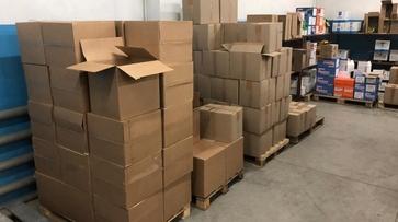 В Воронеже нашли склад с тонной контрафактных сигарет