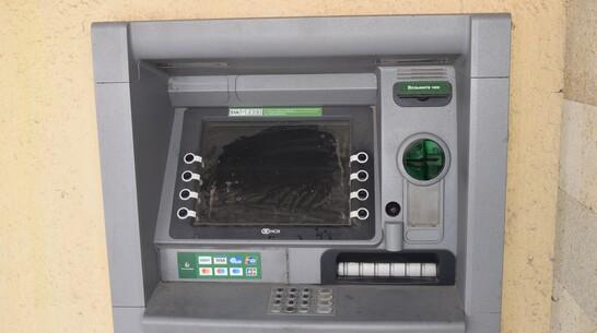 Неизвестные похитили деньги из банкомата в центре Рамони