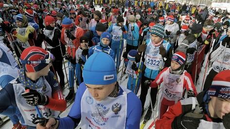 На соревнования «Лыжня России» в Воронеже вышло 5 тыс человек