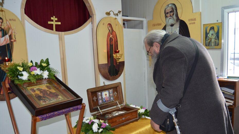 Россошанцы поклонились мощам святого Пантелеймона