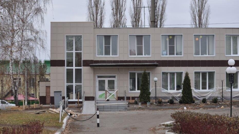 В Репьевке 1 декабря откроется многофункциональный центр