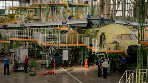 Первые 6 воронежских Ил-96-400М обойдутся государству в 40 млрд рублей