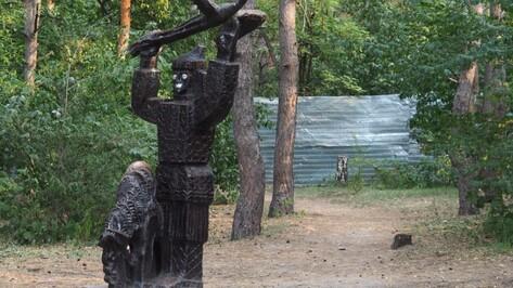 Воронежские власти снесли фигуры сказочных героев в парке «Танаис»