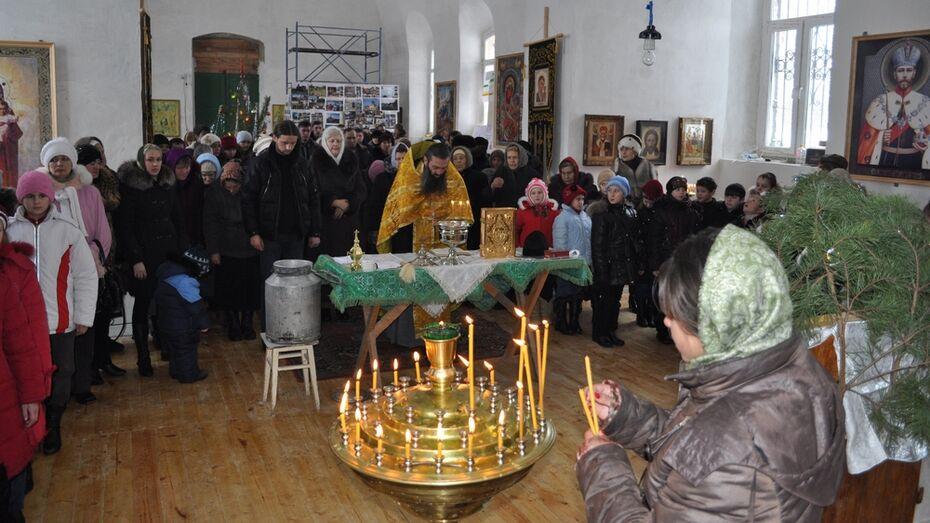 В хохольском селе открылся новый храм