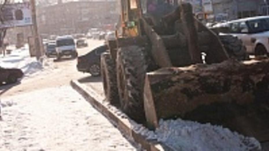 Власти Воронежа закупят в 2015 году дополнительную технику для уборки снега