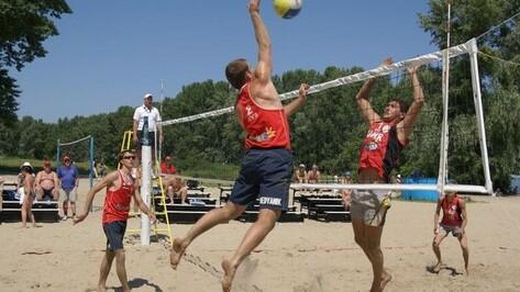 В Борисоглебске прошел турнир по пляжному волейболу