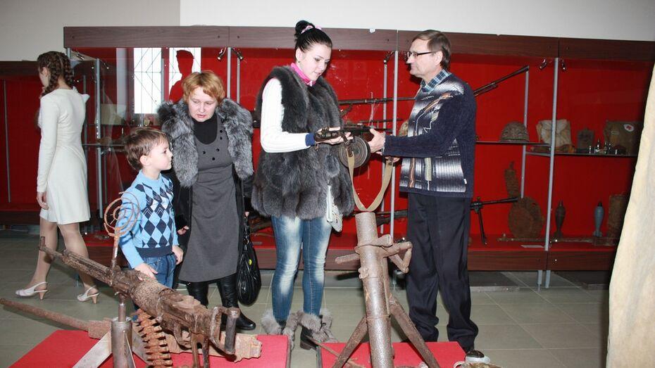Хохольский военно-исторический музей внесли в российскую «Книгу почета»