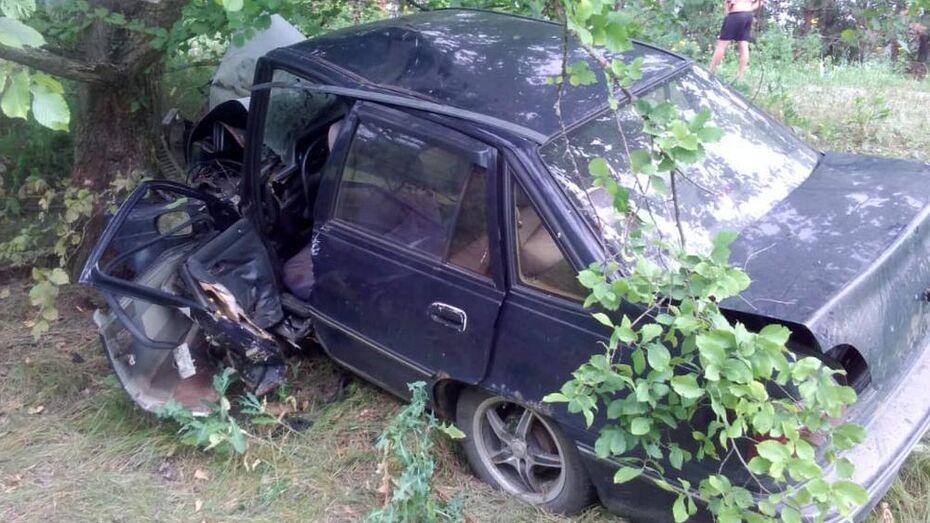 Водитель без прав на иномарке друга погиб при столкновении с деревом в Павловском районе