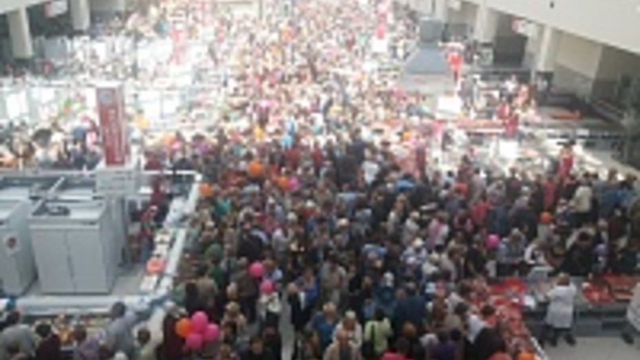 На открытие Центрального рынка в Воронеже собралось больше 4 тыс человек