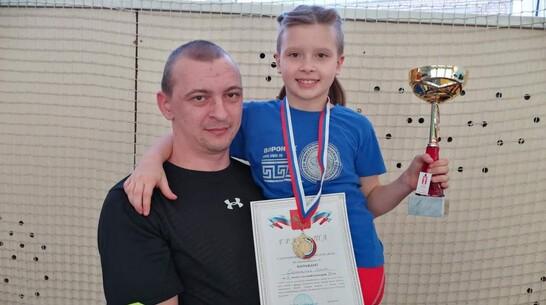 Эртильская спортсменка завоевала «золото» республиканского турнира по вольной борьбе