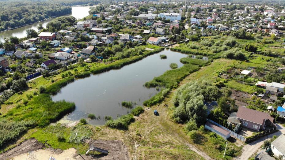 В Воронежской области благоустроят «Перламутровое озеро» за 84 млн рублей