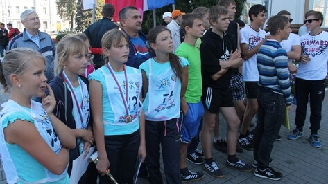 Верхнемамонские школьницы заняли первых четыре места в «Кроссе наций»