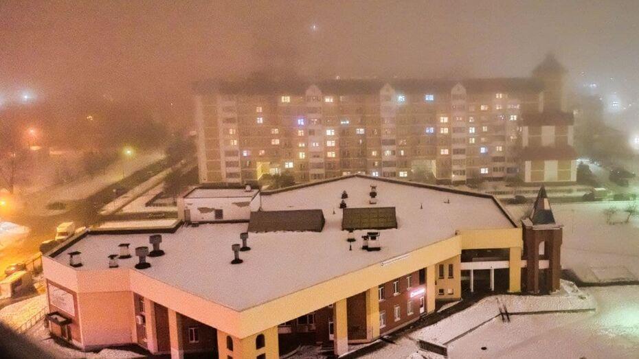 Желтый уровень погодной опасности объявили в Воронежской области