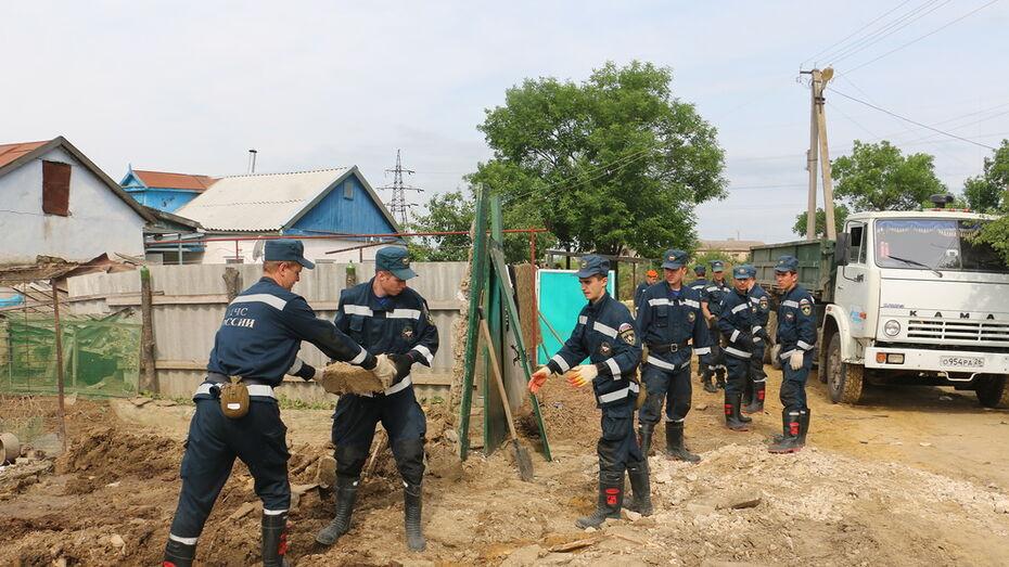 Ставропольские власти поблагодарили воронежских спасателей за работу в зоне подтопления