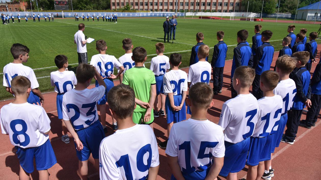 «Задача - только победить!» В Воронеже открылся межрегиональный футбольный турнир