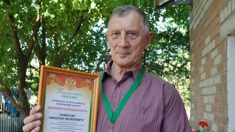 Павловский пенсионер в одиночку вынес из леса 16 тонн мусора