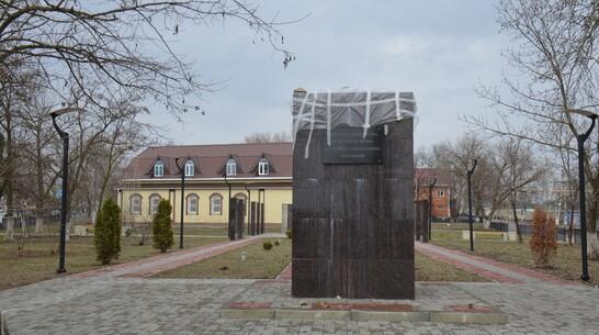 На воинском захоронении в Верхнем Мамоне заменят скульптуру
