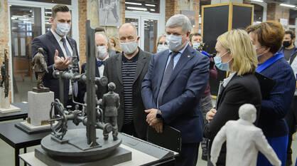 Проект памятника легендарному руководителю «Воронежсинтезкаучука» выбрали в Воронеже