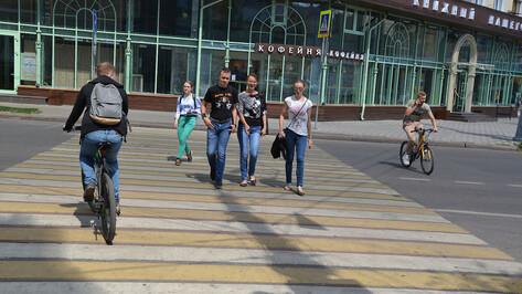 Воронежские гаишники накажут не уступающих пешеходам дорогу водителей