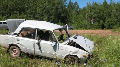 В Воронеже при опрокидывании «ВАЗа» погиб водитель