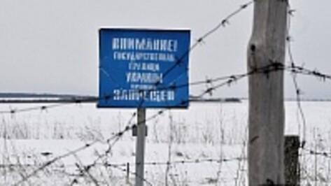 Украинские военные проводят учения на границе с Воронежской областью