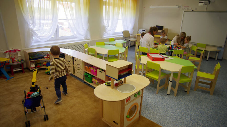 Детские сады Воронежской области могут открыться в начале августа