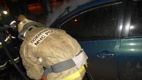 Три иномарки загорелись за сутки в Воронеже