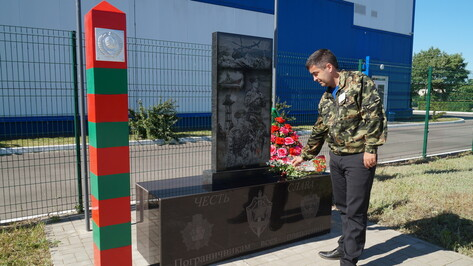 В Петропавловском районе установили памятники пограничникам