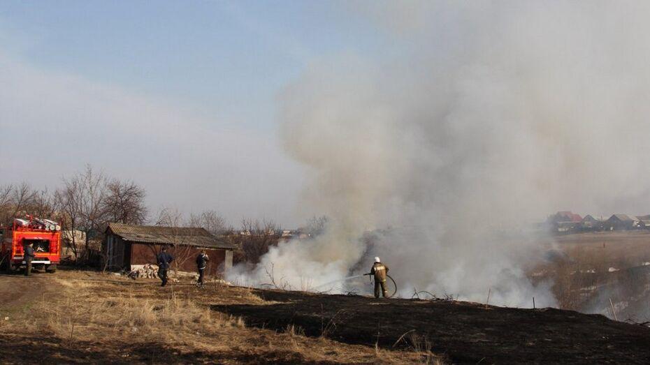В Рамонском районе за один день произошло 11 пожаров
