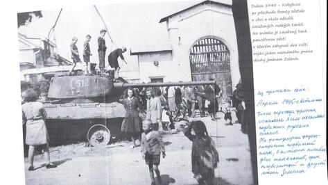 Нижедевидцы передали в Чехию на могилу солдата-земляка горсть земли