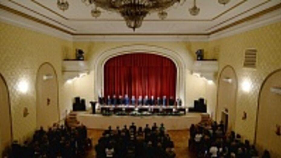 В Воронеже прошло совещание судейского сообщества региона по итогам работы в 2013 году