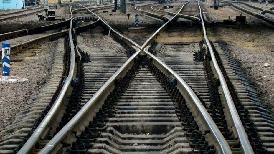 В Воронежской области девушка попала под пассажирский поезд