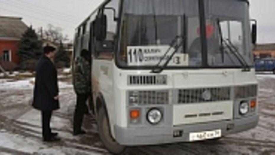 В Калачеевском районе восстанавливаются маршруты в отдаленные села