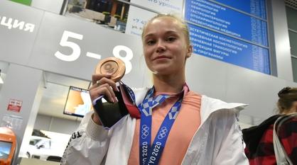 Еще одну медаль ЧМ завоевала воронежская гимнастка Ангелина Мельникова