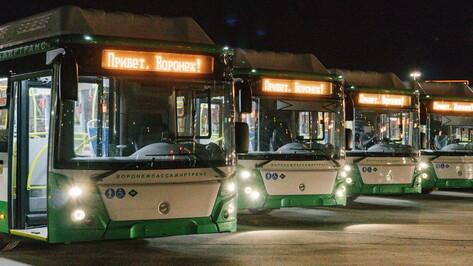 Воронеж встретил 30 больших современных автобусов из новой партии