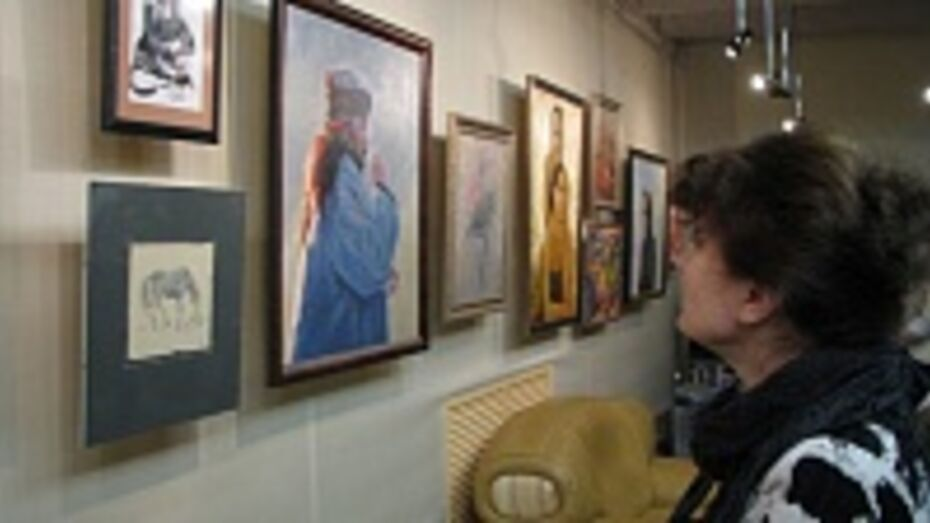 В Воронеже открылась выставка художника Алексея Загородных и его учеников