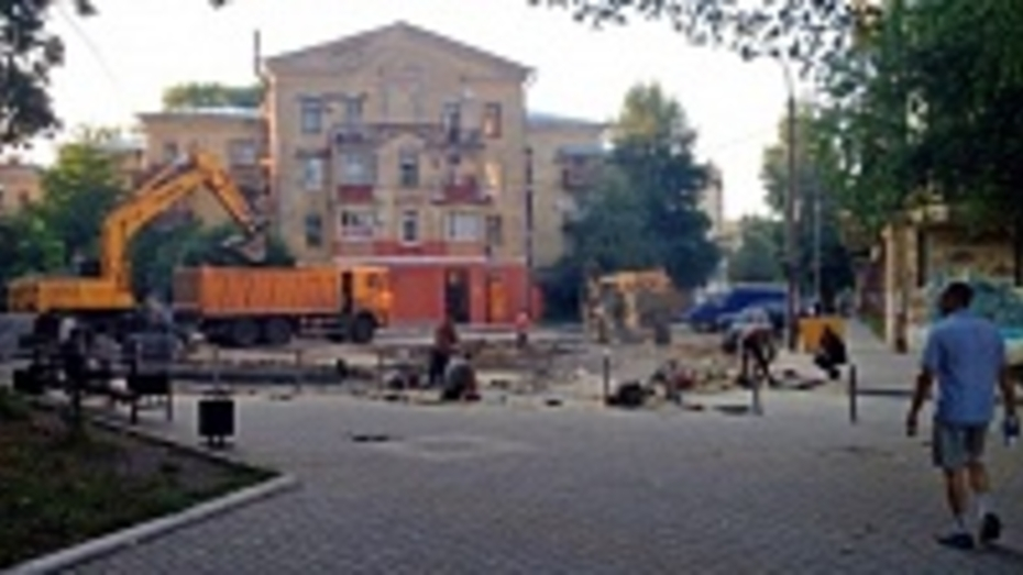 Реконструкция улицы Карла Маркса в Воронеже завершится в середине сентября