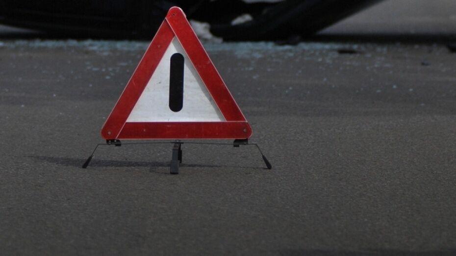 На воронежской трассе «Лада» въехала в стоящую иномарку: пострадала 11-летняя девочка